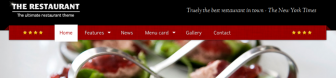 The Restaurant – ultimate wordpress theme!