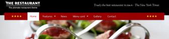 The Restaurant – ultimate wordpress theme!