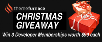 Win ThemeFurnace Developer Membership Worth $99 !