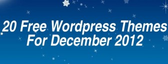 20 of the Best Free WordPress Themes December 2012