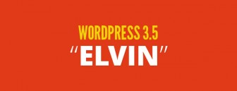 WordPress 3.5 ELVIN Released!