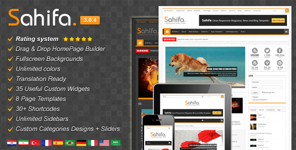 premium wordpress theme march 2013