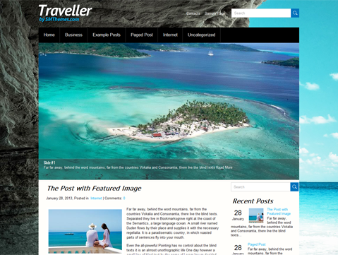 free wordpress theme 2013