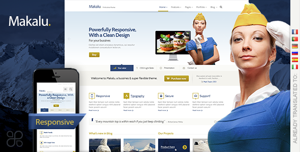 wordpress theme april 2013