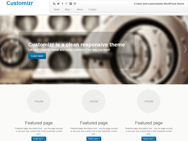 free wordpress theme june 2013