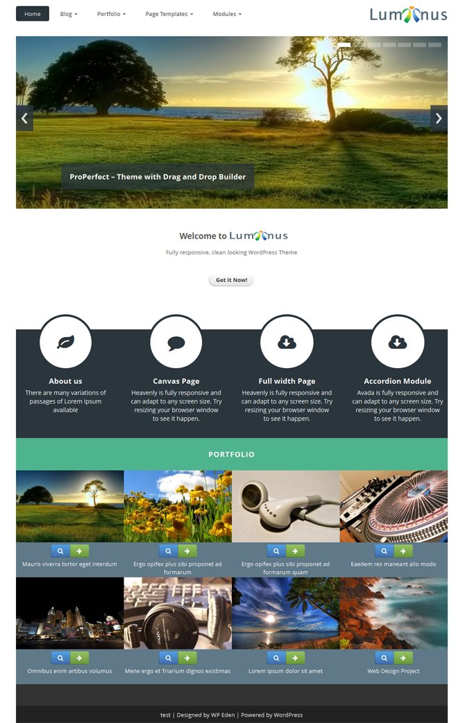 free premium wordpress theme june 2013