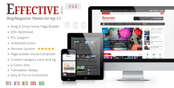 wordpress theme july 2013