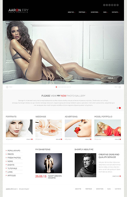 Bootstrap Cherry Framework Responsive WordPress Theme