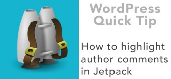 How to Highlight Author Comments in Jetpack