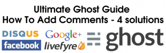 How To Add Comments To Ghost