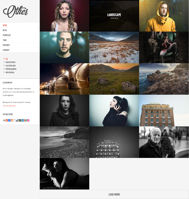 Best WordPress Themes with Vertical Menu - WordPress