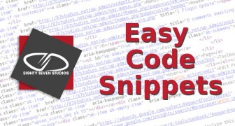 Easy Code Snippets with Prism.js