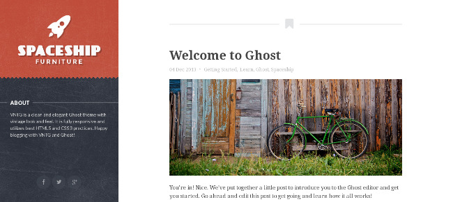 best ghost templates 2013