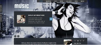 50 Best Responsive Music Band WordPress Themes for 2014