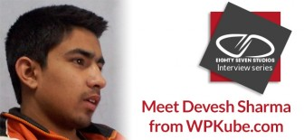 Meet Devesh Sharma from WPKube.com