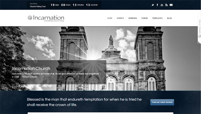 Incarnation WordPress Theme