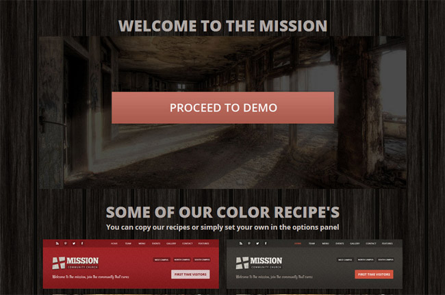 Mission WordPress Theme