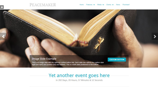 Peacemaker WordPress Theme