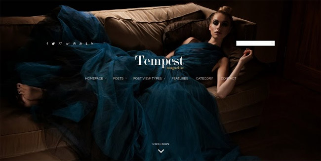 Tempest Magazine WordPress Theme