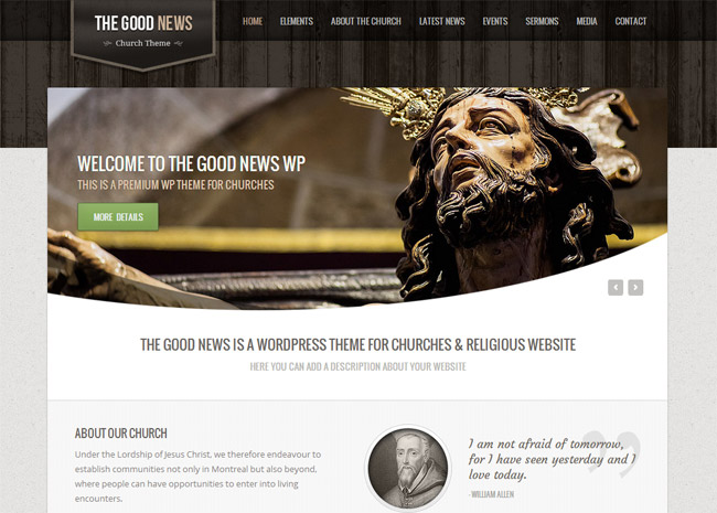 The Good News WordPress Theme