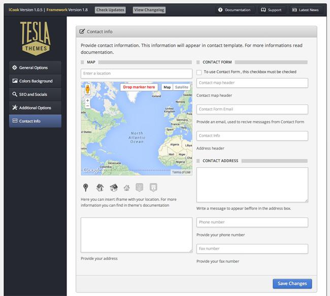 Tesla Framework  Contact Info