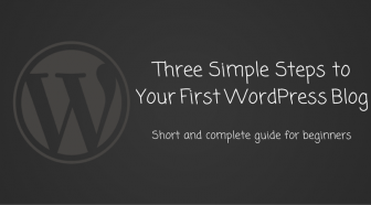 Three Simple Steps to Your First